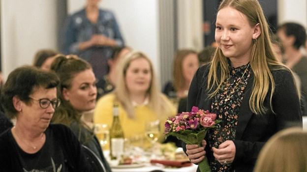 Modellerne viste tøj fra Style4You og buketter fra Butik Mælkebøtten. Foto: Allan Mortensen Allan Mortensen