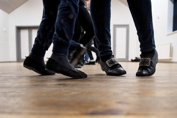 Skoene er skinnende. Foto: Laura Guldhammer Foto:  Laura Guldhammer