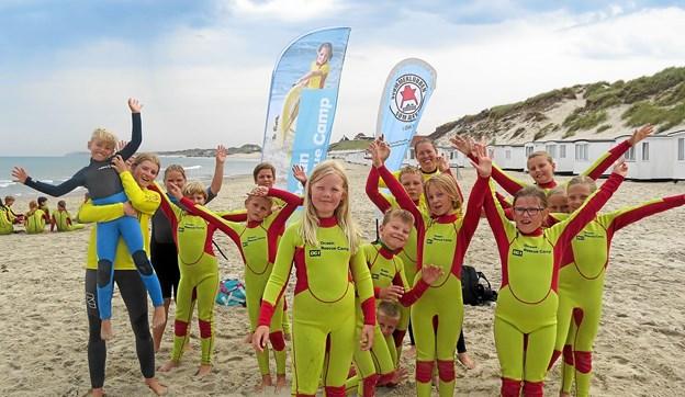 Svømmeklubben Sømærket har, efter ekstraordinær generalforsamling, fået en ny bestyrelse. Fotoet er fra sommerens Ocean Rescue Camp som i år var landets største. Arkivfoto