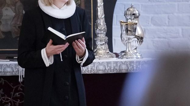 Line Kjær Nielsen har officiel indsættelse den 20. januar. Foto: Peter Mørk Peter Mørk