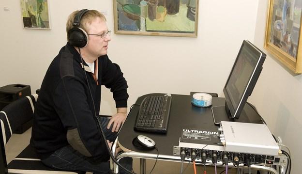 Jens Nielsen (billedet) kommer med band til Ugilt Kirke Arkivfoto: Henrik Louis