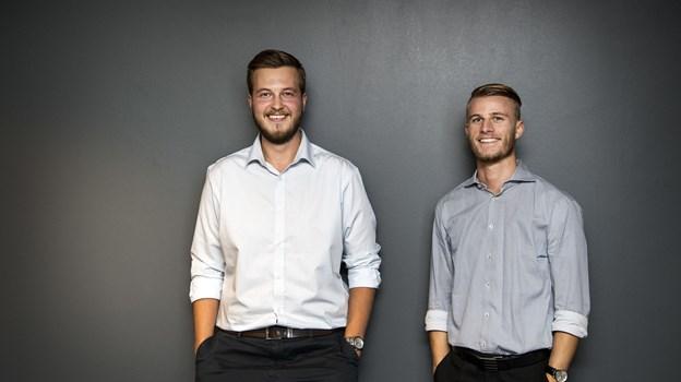 De er begge studerende på Aalborg Universitet og arbejder med Dinnerlust ved siden af.