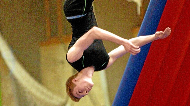Gandrup Hallen danner 23. marts ramme om den årlige gymnastikopvisning. Foto: Allan Mortensen