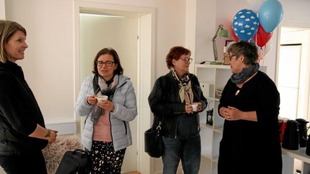 Der var reception i Brovst. Foto: Flemming Dahl Jensen Flemming Dahl Jensen
