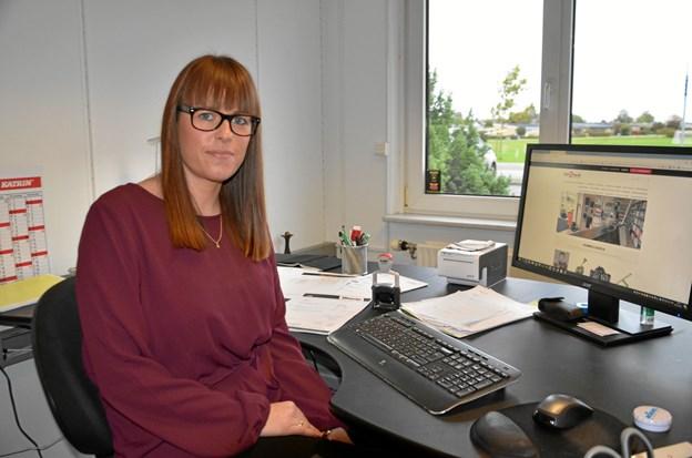 Trine Juul Nørbech Poulsen er webansvarlig hos webshoppen click2buy.dk, der har fået en god start. Privatfoto: Jesper Bøss