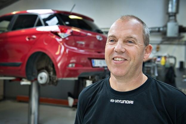 Tidligere i år blev Flemming Stensbak kåret til Danmarks bedste Hyundai-servicerådgiver, og det var denne titel, der udløste billetten til konkurrencefinalen i bilmærkets hovedkvarter i Sydkorea Arkivfoto: Kim Dahl Hansen