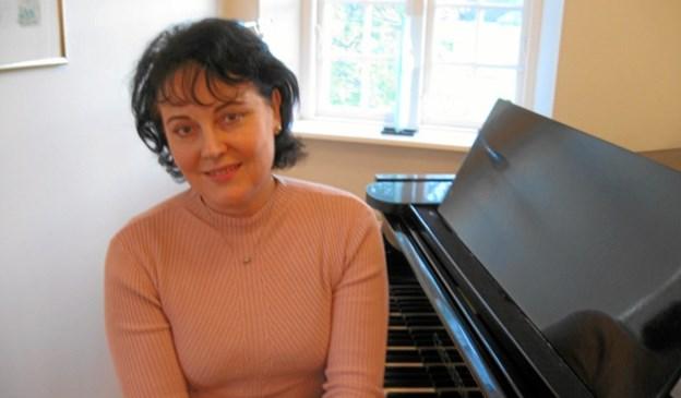 Organist Marina Dalgaard. Foto: privat.