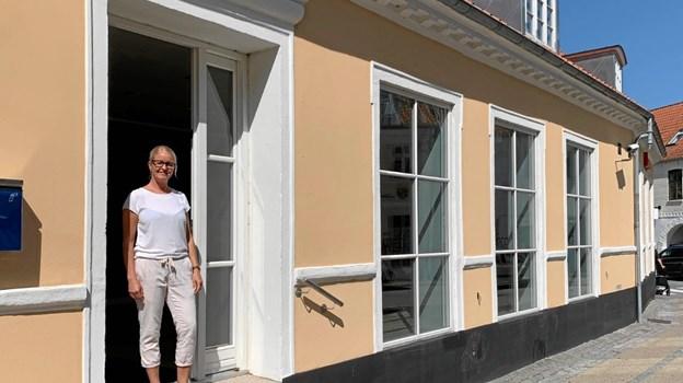 Charlotte Mechlenburg glæder sig til at åbne dørene og byde kommende brude velkommen i butikken Bridelux fra 1. november i år.