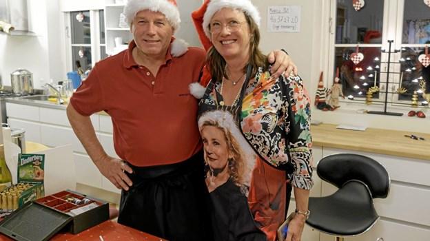 Jesper Holmelund og Inge Reenberg er det perfekte værtspar, der får gæsterne til at føle sig velkommen uanset anledning. Foto: Niels Helver Niels Helver