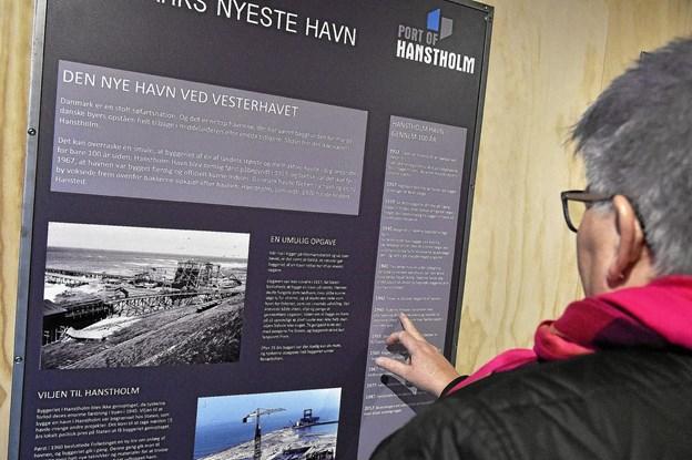 Hanstholm Havns historie er genfortalt af historiker Thomas Tram Pedersen fra PlanScape. Foto: Ole Iversen Ole Iversen