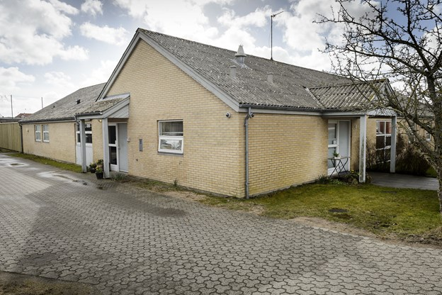 Krisecentret i Frederikshavn på Kong Christians Alle.  Foto: Peter Broen