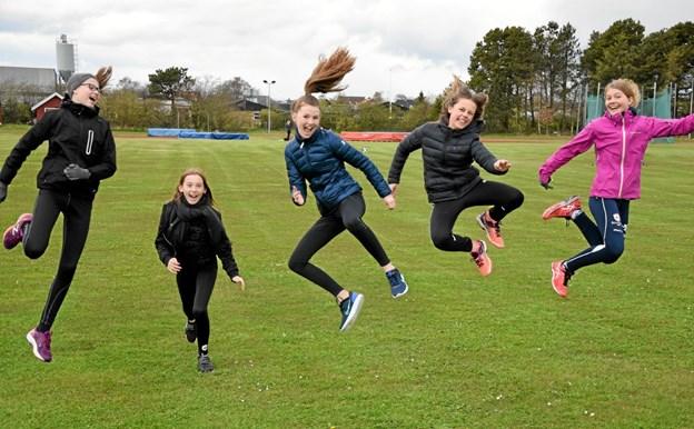 Atletiktræning med masser af udfordringer Foto: Gunnar Møller Nielsen Gunnar Møller Nielsen