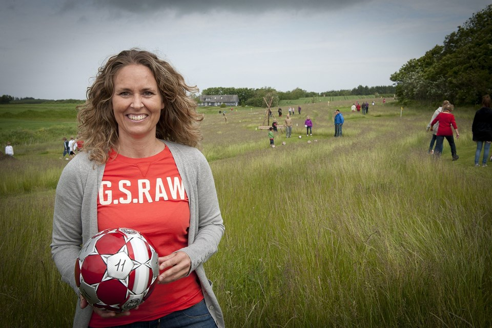 Maiken Seholt skal drive Fodboldbanen i hverdagen. Foto: Kim Dahl