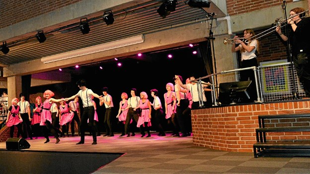 """Over 100 elever er involveret i """"Ragnarok"""", der opføres på Dronninglund Gymnasium i uge 6. Privatfoto"""