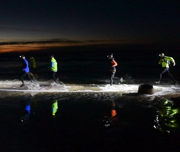Løbet, der er døbt Coastal run Day & Night, er udviklet i et samarbejde mellem Coast2Coast og VestEvent - det finder sted 23. marts i år. Arkivfoto: Hans Ravn