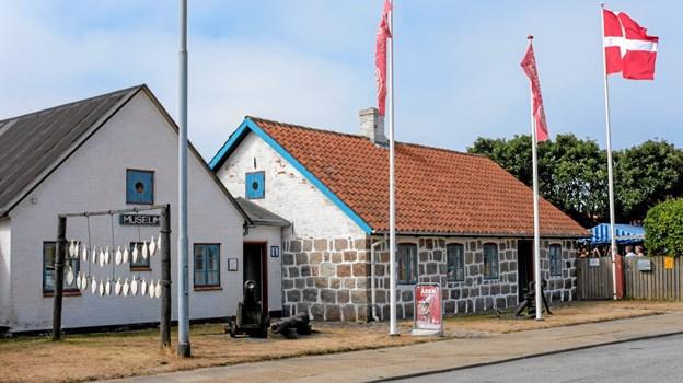 Hirtshals Museum har hele juli måned mange aktiviteter i museumshaven. Foto: Niels Helver Niels Helver