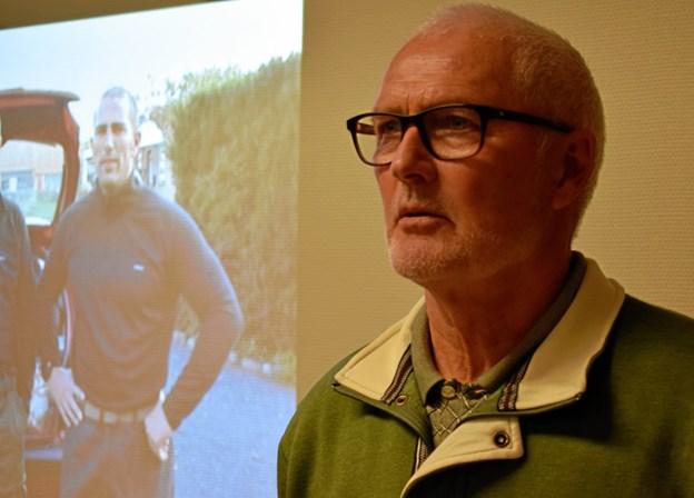 Børge Lindgaaard Petersen fortalte om turen og viste oplevelsen gennem en medbragt film.