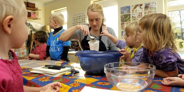 Børn og unge fra 9690 bagte for en sag - og det har gjort en kæmpe forskel. Der er blevet samlet 128.000 kroner ind til Børns Vilkår. Arkivfoto