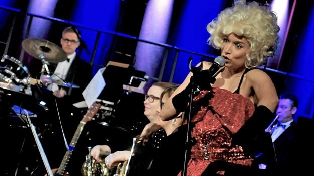 Camilla Marienhof har flere gange tidligere optrådt på Kappelborg, blandt andet ved Nytårskoncerten i 2016, hvor hun blandt andet optrådte som Dolly Parton. Foto: Skagen Fotoklub