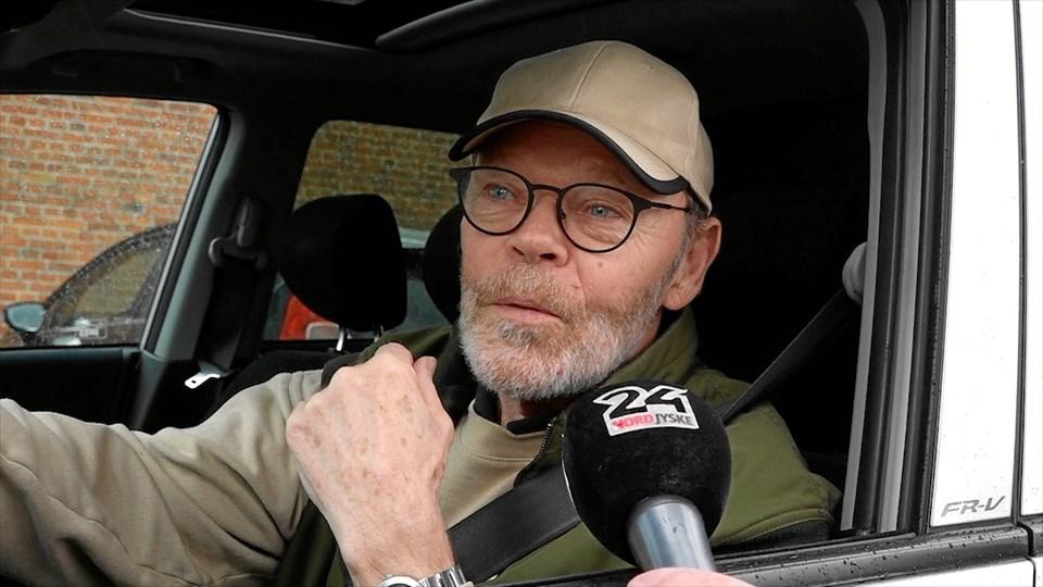 Thorkild Vendelbo var en af de bilister, der fredag måtte være tålmodig for at finde en p-plads.