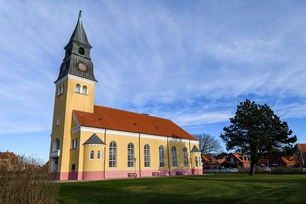 Kirken vil ved det nye tag, modsat det nuværende, få lavet et undertag, som skal give det øget holdbarhed.Arkivfoto: Nicolas Cho Meier