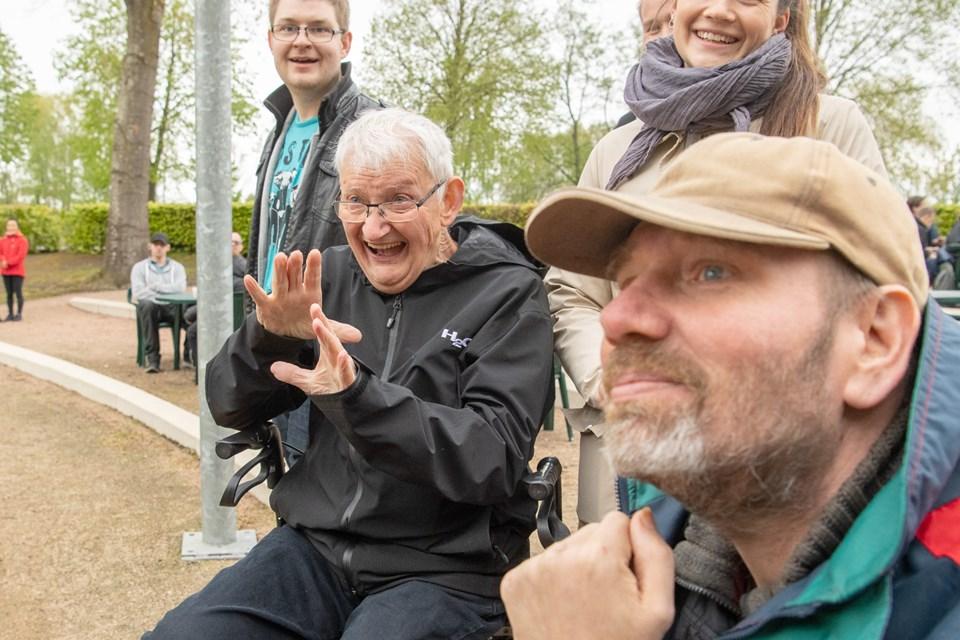 Humøret var højt, da Springbræt Festival indtog Hedelund. Foto: Henrik Louis