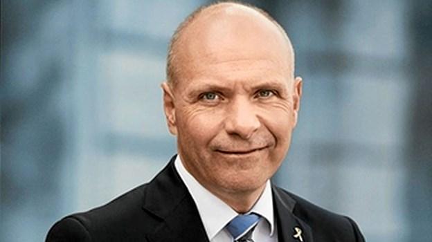 Venstrepolitikeren Søren Gade holder årets åbningstale ved Stafet For Livet i Dronninglund.  Privatfoto