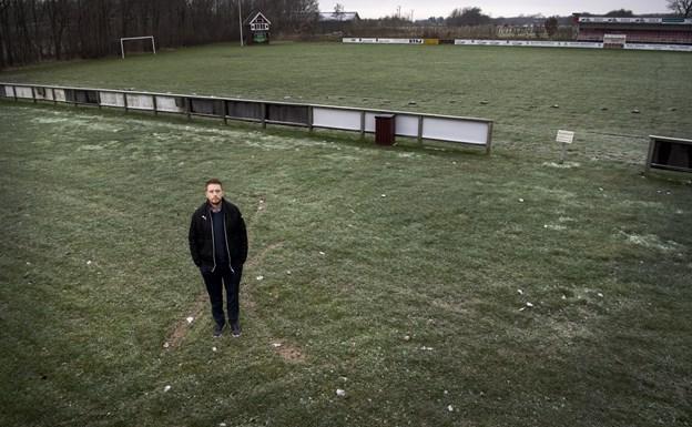 Daniel Svane håber på mange folk på stadion til næste hjemmekamp for BI's førstehold. Arkivfoto: Laura Guldhammer
