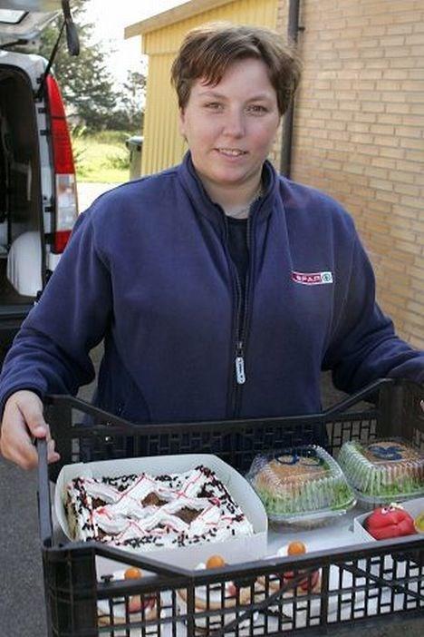 Karin Pedersen er født og opvokset i Poulstrup, og er nu blevet bestyrer for byens Kwik Spar.