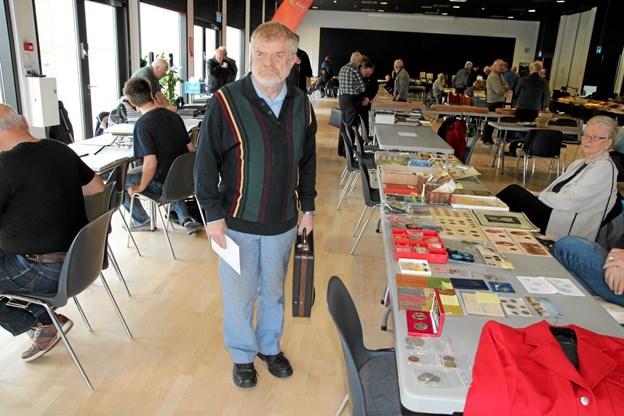 Klar til at købe og bytte mærker. Foto: Flemming Dahl Jensen Flemming Dahl Jensen