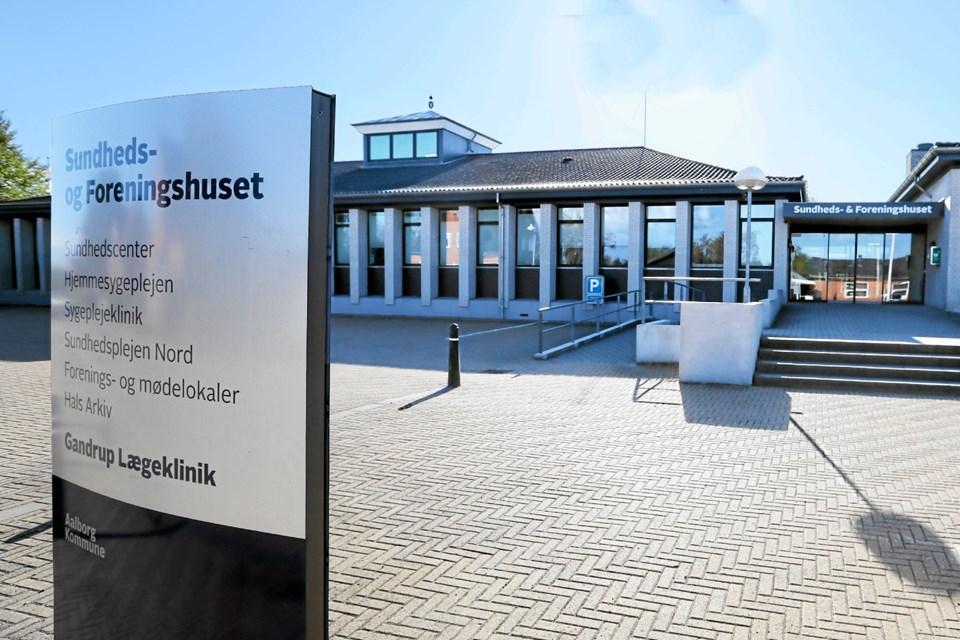 Den 26. maj kan man få et nærmere indblik i mulighederne i Sundheds- og Foreningshuset i Gandrup. Foto: Allan Mortensen