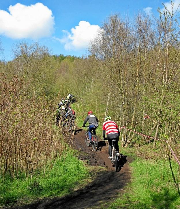 Der bliver mange cyklister på stierne omkring Gistrup. Arkivfoto: Kjeld Mølbæk