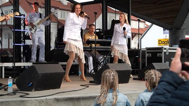 Tjekkiske ABBA CZ leverede stærke liveudgaver af ABBA's klassikere. Foto: Hans Ravn
