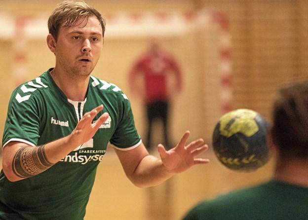 Gandrup/Holtets håndboldherrer i serie 3 ligger sidst i puljen efter 6 kampe. Foto: Allan Mortensen Allan Mortensen