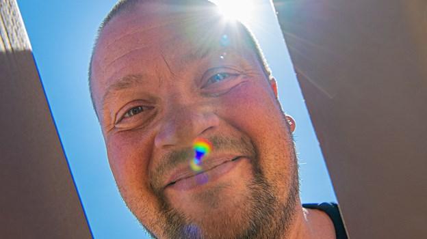 Martin Christensen har været en del af Aalborg Pride fra starten. Foto: Martin Damgård