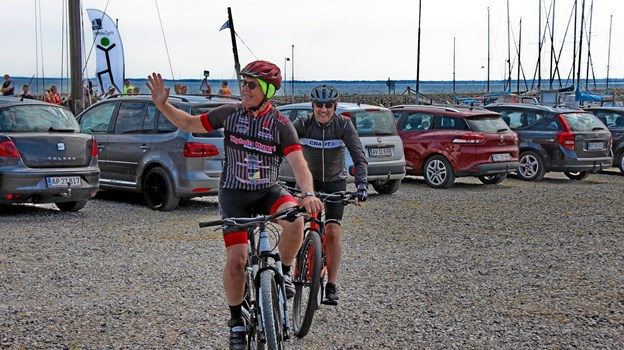 Nogle valgte deres mountainbike til løbet. Foto: Hans B. Henriksen Hans B. Henriksen