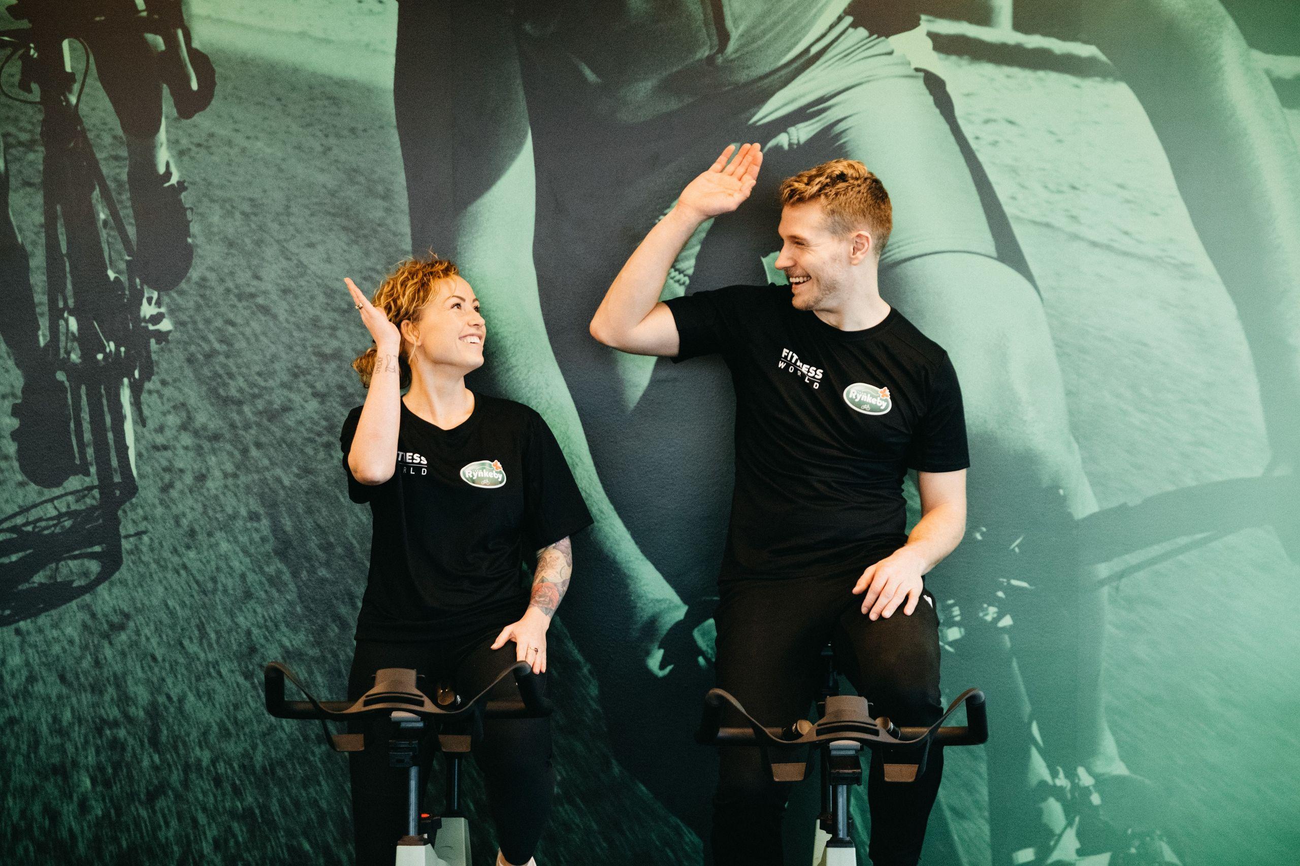 Også her i Aalborg kan du være med til at cykle penge ind til kræftramte børn. PR-foto