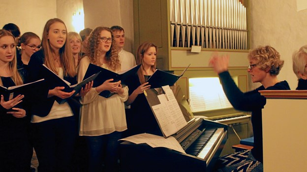Gospelkoret Voices Delight optræder onsdag 5. december i Døstrup Kirke.   Privatfoto