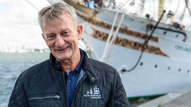 Eventchef Søren Thorst glæder sig over, at selve afviklingen af arrangementet forløb uden problemer. Foto: Teis Markfoged