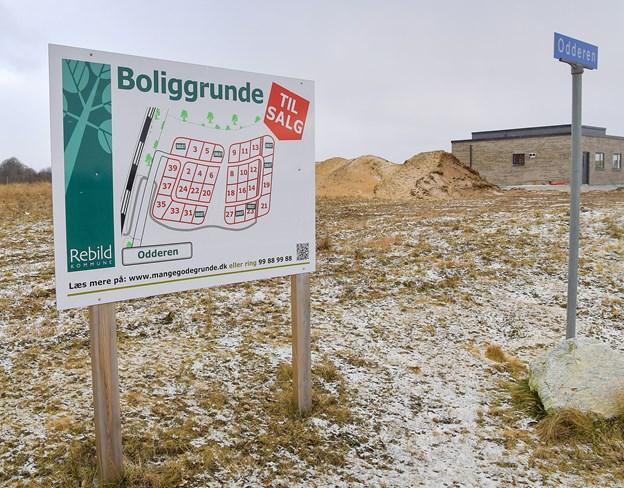 Specielt i den kommunale udstykning Odderen i Støvring Ådale med i alt 32 grunde er der i 2018 solgt mange byggegrunde. Arkivfoto: Jesper Thomasen
