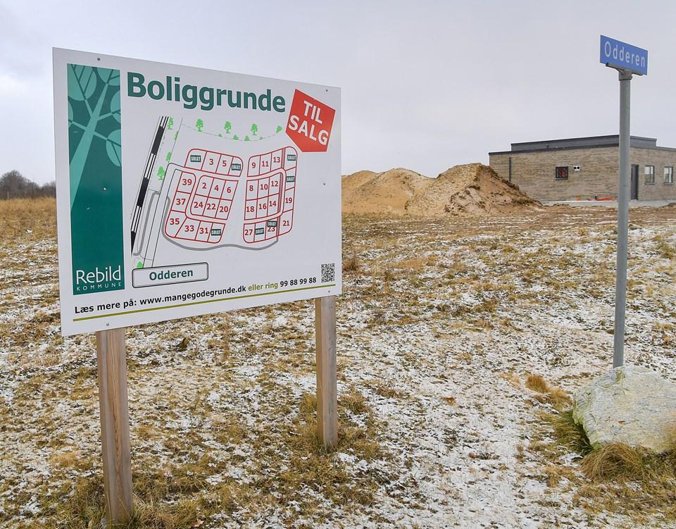 Specielt i den kommunale udstykning Odderen i Støvring Ådale me d i alt 32 grunde er der i 2018 solgt mange byggegrunde. ?Arkivfoto: Jesper Thomasen