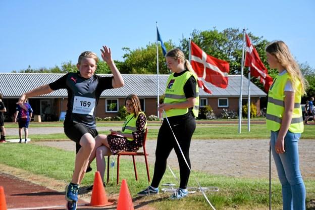 8. klasses elever var dommere ved Skole OL sidste år, sådan bliver det også i år. Foto: Gunnar Møller Nielsen Gunnar Møller Nielsen