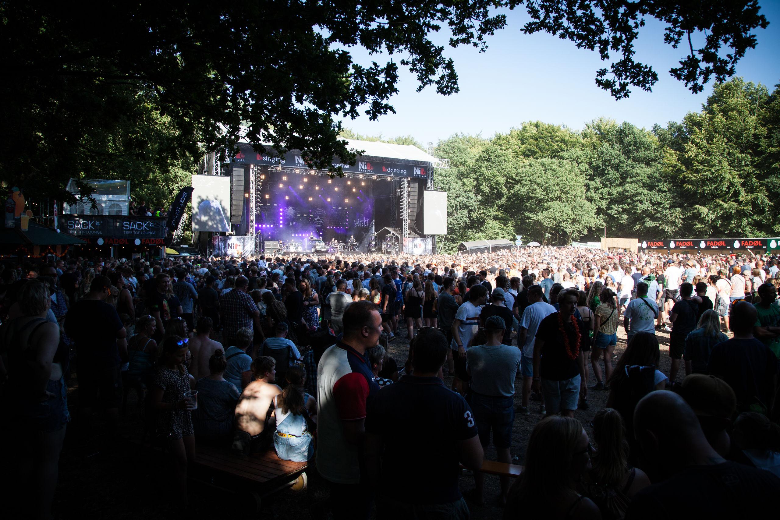 Årets Nibe Festival gav rekordomsætning - nu er der penge til foreningerne bag. Foto: Nibe Festival