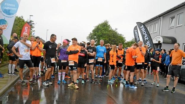 Der var masser af løbere fra PGU Runners i Pandrup til stede ved den store dage. Privatfoto