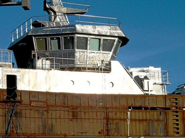 Også trawlernes styrehuse har været en inspirationskilde for arkitekt og bygherre. Jörg Kerchlango