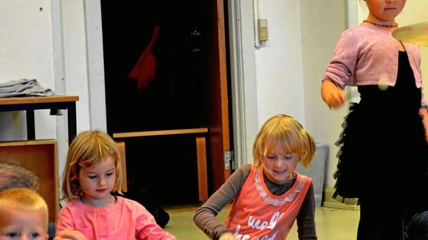 Musik for de yngste. Foto: Hjørring Musiske Skole