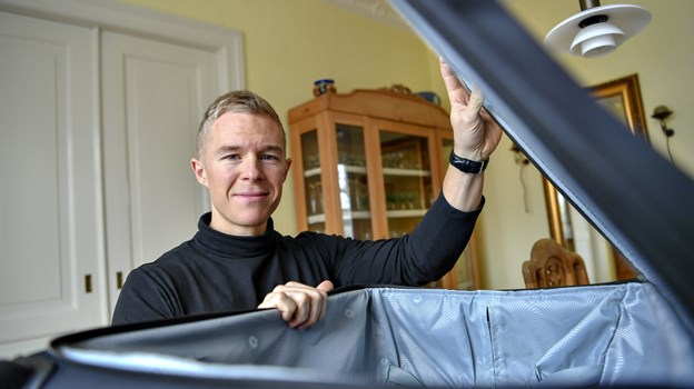 Matti Saastamoinen Binderup har succes med sit eget rejsebureau. Derfor har han sagt op som advokatfuldmægtig. Foto: Kurt Bering Kurt Bering