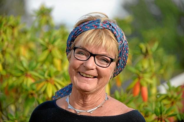 Gitte Buch - udstiller fra 12. august og frem til 22. september i Galleri Vognporten i Mariager. Privatfoto
