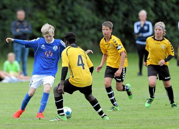 De gulblusede fra Aabybro IF's fodboldafdeling har fået ny formand.?Arkivfoto