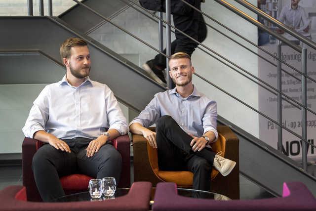 Her ses stifterne af Dinnerlust Oliver Thorsen og Marc Storm Andersen. Arkivfoto: Laura Guldhammer